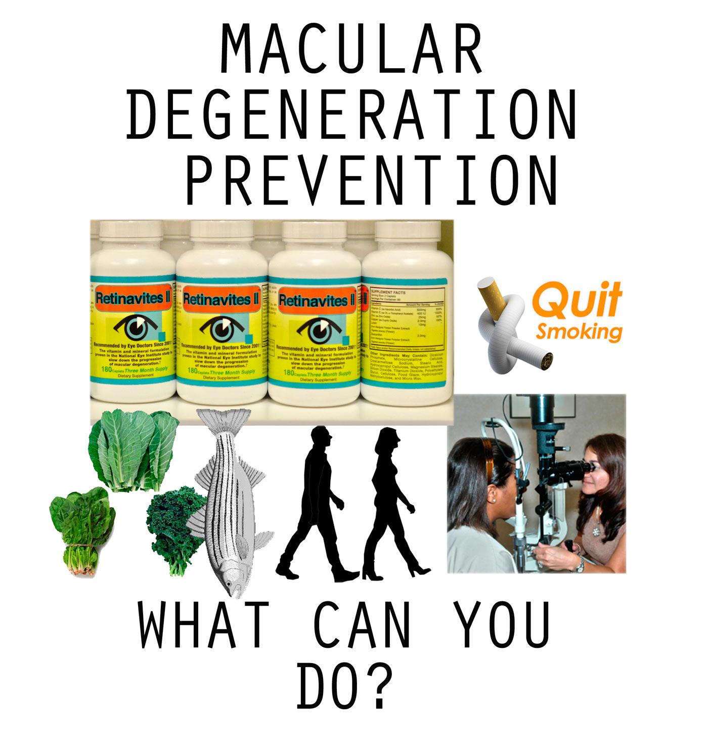 Macular Degeneration Prevention
